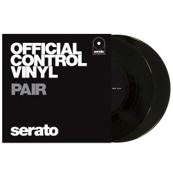 "Serato 7""Performance Vinyl Black (Pair)"