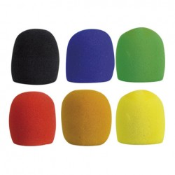 Coloured Microphone Windshields