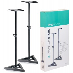 Stagg height adjustable studio monitor stands