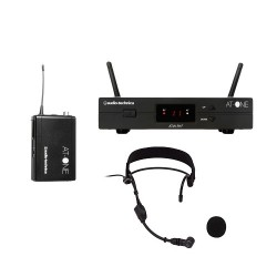 Audio Technica Wireless Headset Microphone System