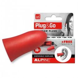 Alpine PLUG & GO Foam Earplugs