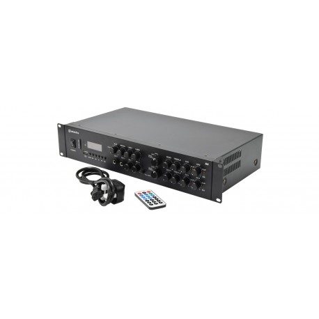 Adastra Dual Stereo PA Amplifier 4 x 200W