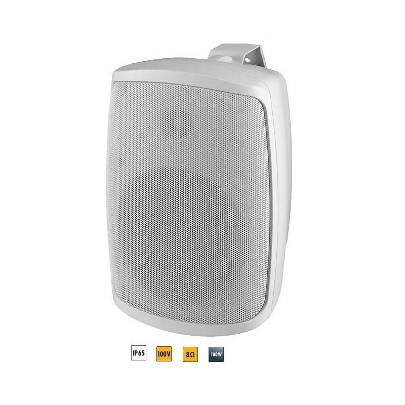 "Monacor 6.5"" 2-Way speaker White (Single)"
