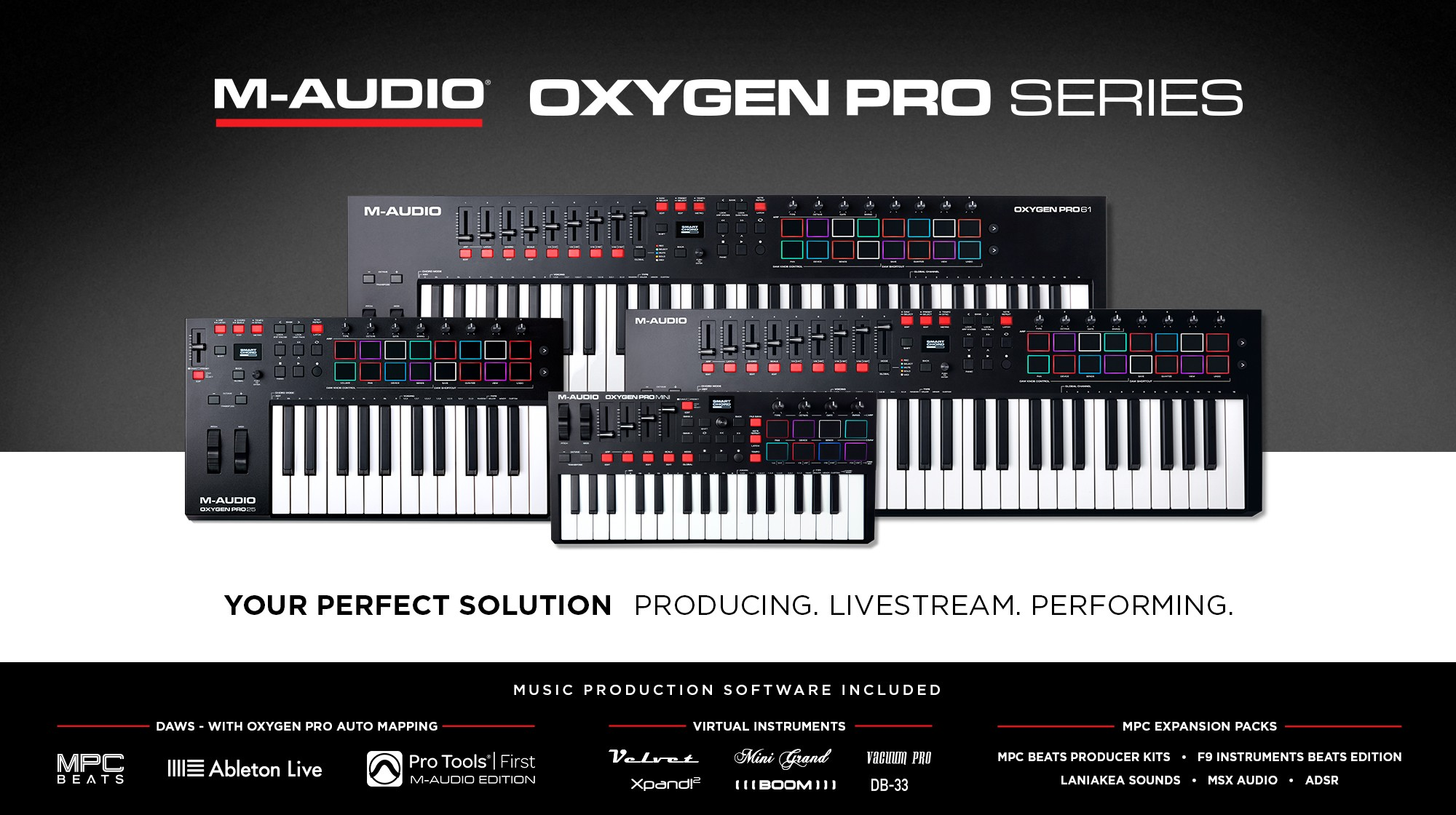 Oxygen Pro series controllers